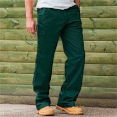RUSSELL ADULTS POLYCOTTON TWILL TROUSERS