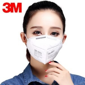 3M 9001 Particulate Respirator (pack of 50) (For smaller faces)