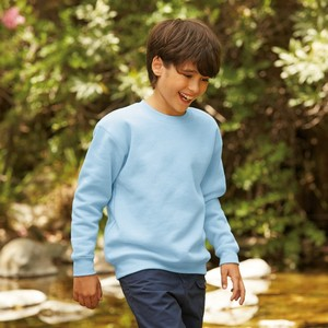 Fruit Of The Loom Premium Kids Set-In Sweat