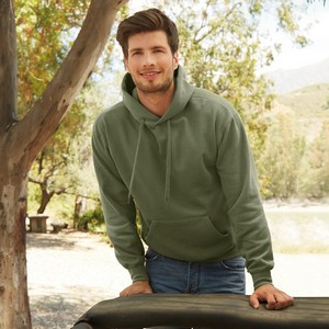 FRUIT OF THE LOOM CLASSIC MENS HOODED SWEAT