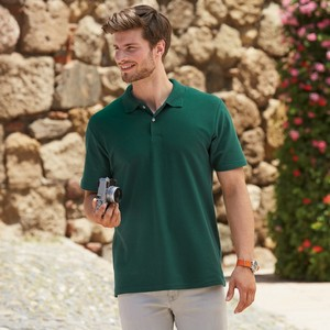 FRUIT OF THE LOOM MENS ORIGINAL POLO SHIRT
