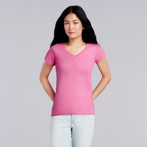 Gildan Softstyle Ladies V-Neck T Shirt