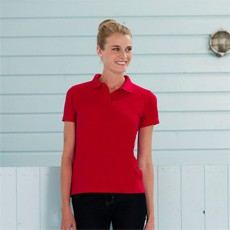 JERZEES 65/35 LADIES POLYCOTTON HARD WEARING PIQUE POLO SHIRT