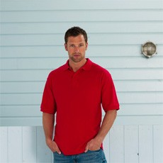 Russell Mens Classic Polycotton Polo