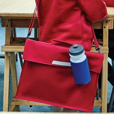 QUADRA ACADEMY BOOK WITH SHOULDER STRAP
