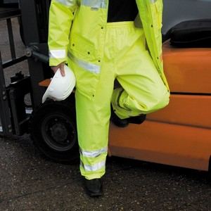 Result Safe-Guard High-Viz Trousers