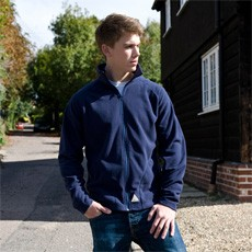 RESULT YOUTH MICROFLEECE JACKET