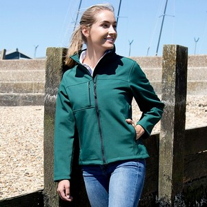 RESULT WOMENS CLASSIC SOFT SHELL JACKET