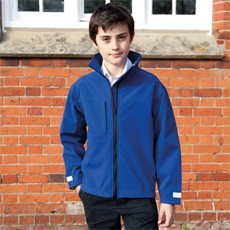 RESULT JUNIOR CLASSIC SOFT SHELL JACKET