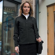 RESULT WOMENS BASE LAYER SOFT SHELL JACKET