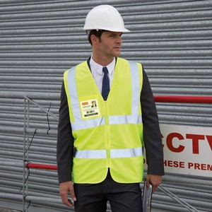RESULT CORE ZIP I.D SAFETY TABARD
