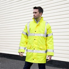 RESULT CORE HIGH VIZ MOTORWAY COAT