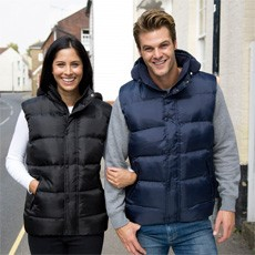 Result Nova Lux Padded Hooded Gilet