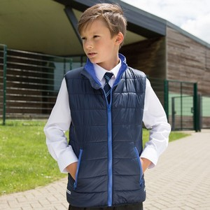 RESULT YOUTH PADDED BODYWARMER