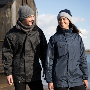 RESULT PRINTABLE 3-IN-1 TRANSIT JACKET WITH SOFT SHELL INNER
