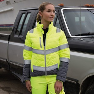 Safe-Guard Womens Soft Padded Safety Jacket
