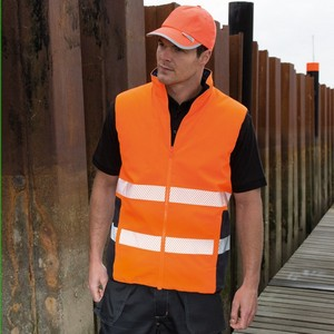 SAFEGUARD REVERSIBLE  SOFT PADDED SAFETY GILET