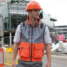 Result Work-Guard X-Over Microfleece Lined Gilet