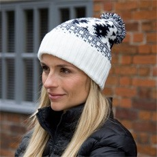 Result Winter Essentials Deluxe Fair Isle Hat