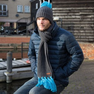 Result Headwear Chunky Knit Set