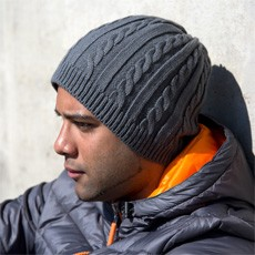 RESULT WINTER ESSENTIALS MARINER KNITTED HAT