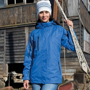 RESULT WOMENS 3-IN-1 JOURNEY JACKET WITH SOFT SHELL INNER