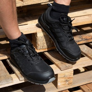 Result Work-Guard All Black Safety Trainer