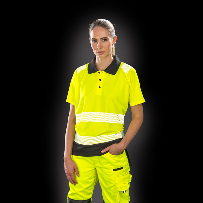 Result Genuine Recycled Safe-Guard Recycled Safety Polo