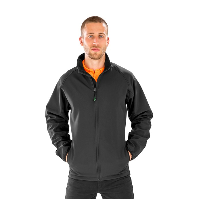 Result Genuine Recycled 2-Layer Printable Softshell Jacket
