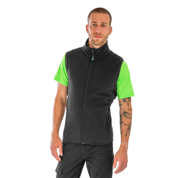 Result Genuine Recycled Fleece Polarthermic Bodywarmer