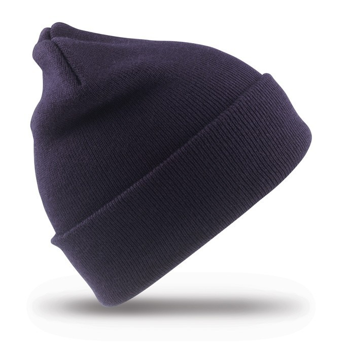 Result Genuine Recycled Double Knit Beanie