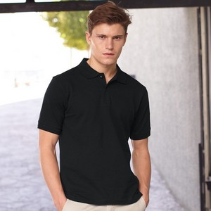Fruit Of The Loom Mens Slim Fit Polo Shirt