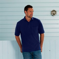 Russell Mens Heavy Duty Cotton Polo