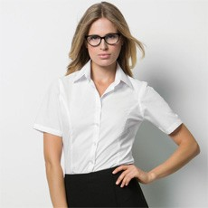 KUSTOM KIT LADIES SHORT SLEEVED BUSINESS SHIRT