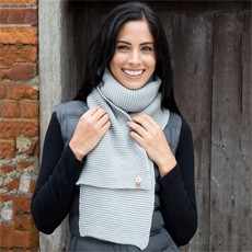 Result Winter Essentials Button Trim Scarf