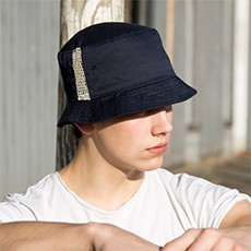 Result Headwear Deluxe Cotton Bucket Hat With Side Mesh Panels