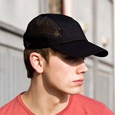 Result Headwear Sport Cap With Side Mesh