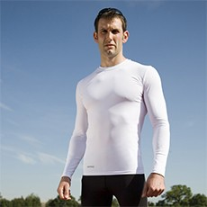 Spiro Compression Bodyfit Long Sleeve Base Layer