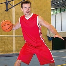 SPIRO BASKETBALL MENS QUICK DRY TOP